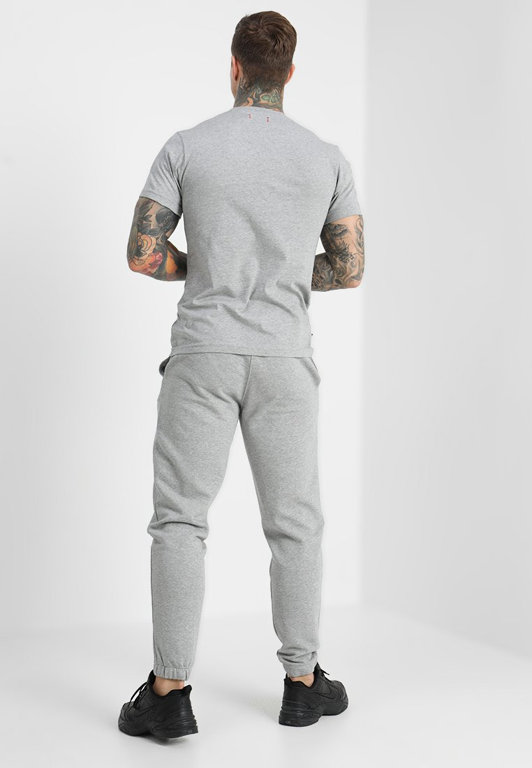 Le Fix Patch Tee - T-shirt Basic Grey Melange VsZ56GRV 6bzEyXNT