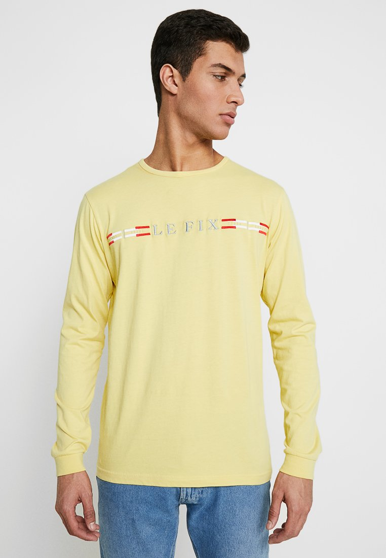 Le Fix - ICE FLAG - Long sleeved top - lime