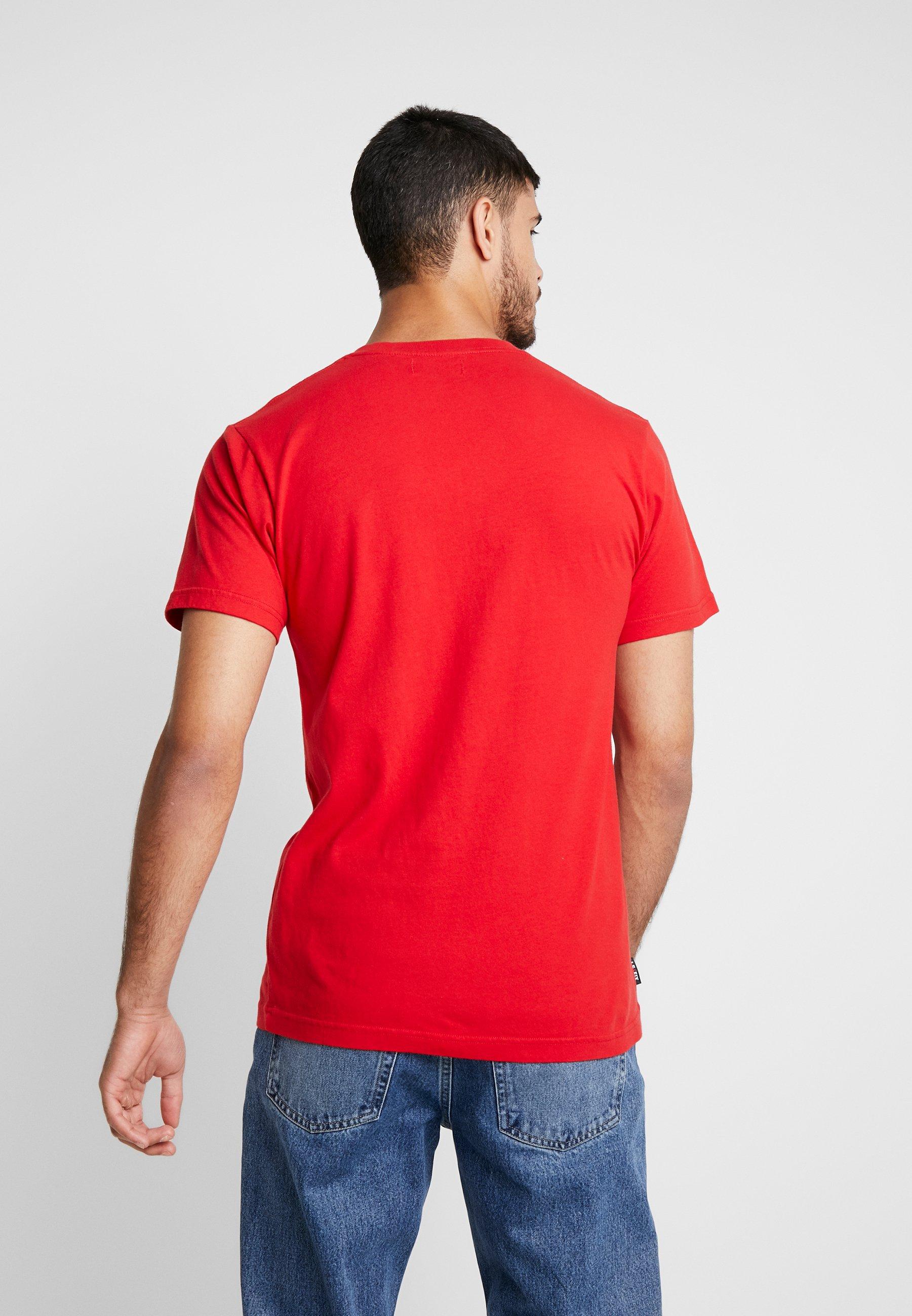 Fix TeeT shirt Letters Le Red Imprimé Jumping N0yPv8nOmw