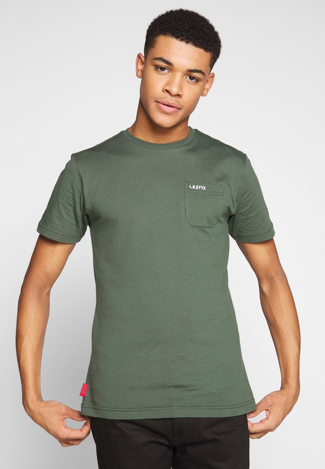 POCKET TEE - T-shirt basic - army