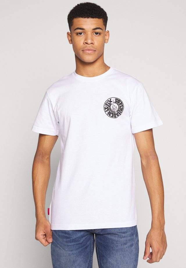 IMS TEE - T-shirts med print - white