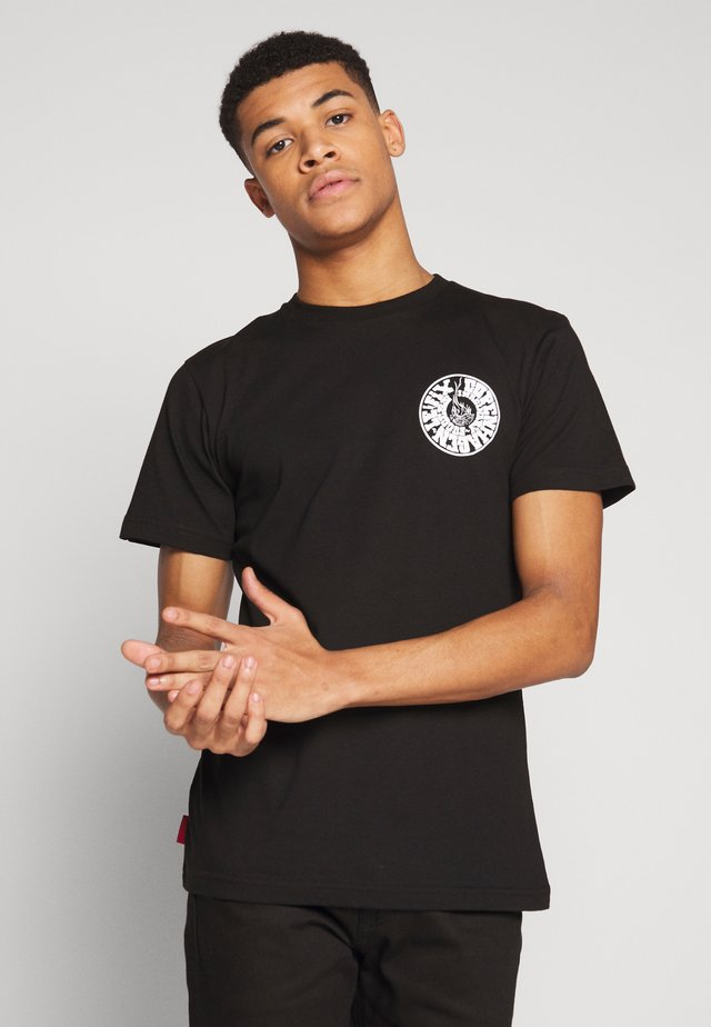IMS TEE - T-shirts med print - black