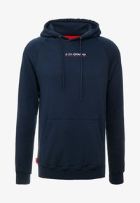 Le Fix - JUMPING LETTERS HOOD - Mikina skapucí - navy - 3