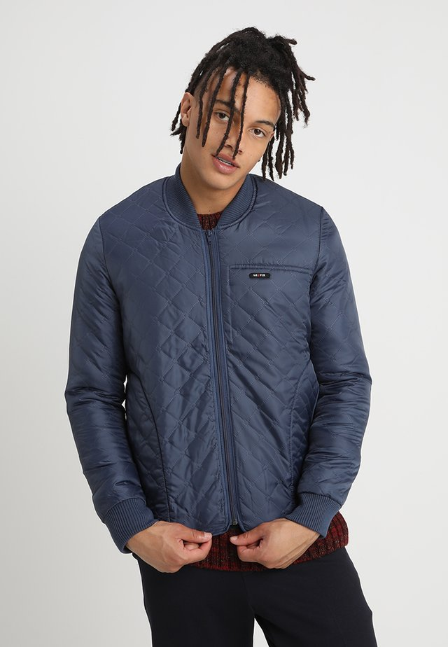 THERMO JACKET - Bomber bunda - navy