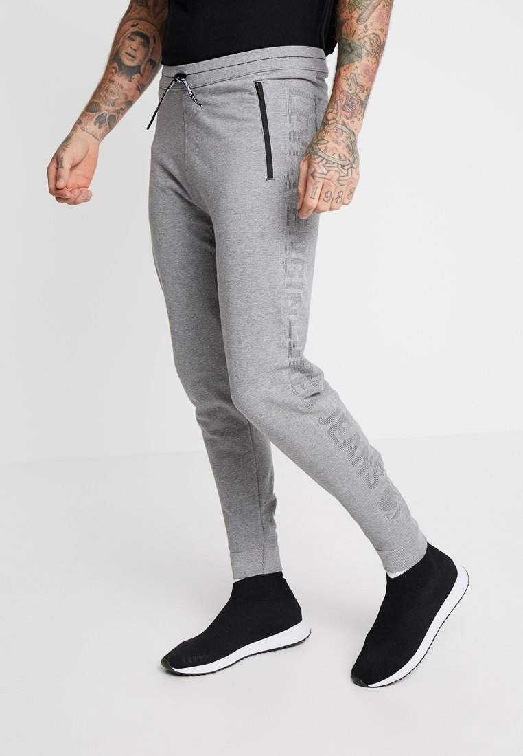 Levi's® Engineered Jeans - LOGO - Tracksuit bottoms - heather grey