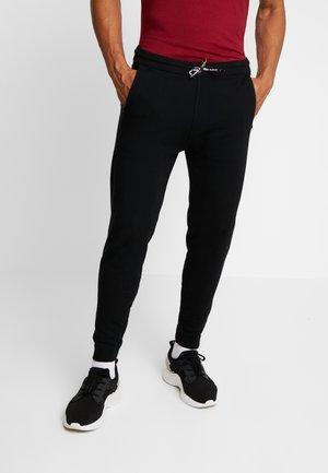 LEJ TAPER JOGGERS - Tracksuit bottoms - black