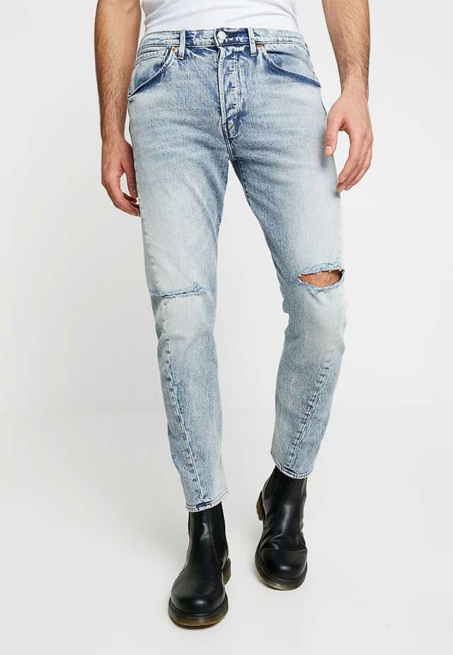 LEJ 502 REGULAR TAPER - Jeans Tapered Fit - vespertine denim