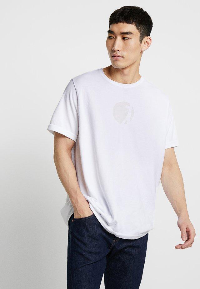 LEJ TEE - T-paita - white