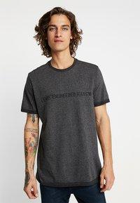 Levi's® Engineered Jeans - LEK TEE - T-shirt print - dark heather grey - 0