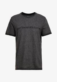 Levi's® Engineered Jeans - LEK TEE - T-shirt print - dark heather grey - 3