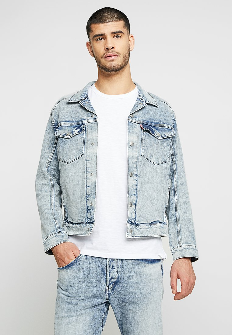 Levi's® Engineered Jeans - LEJ TRUCKER - Denim jacket - sugarcubes denim lej b