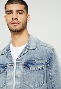 Levi's® Engineered Jeans - LEJ TRUCKER - Denim jacket - sugarcubes denim lej b - 4