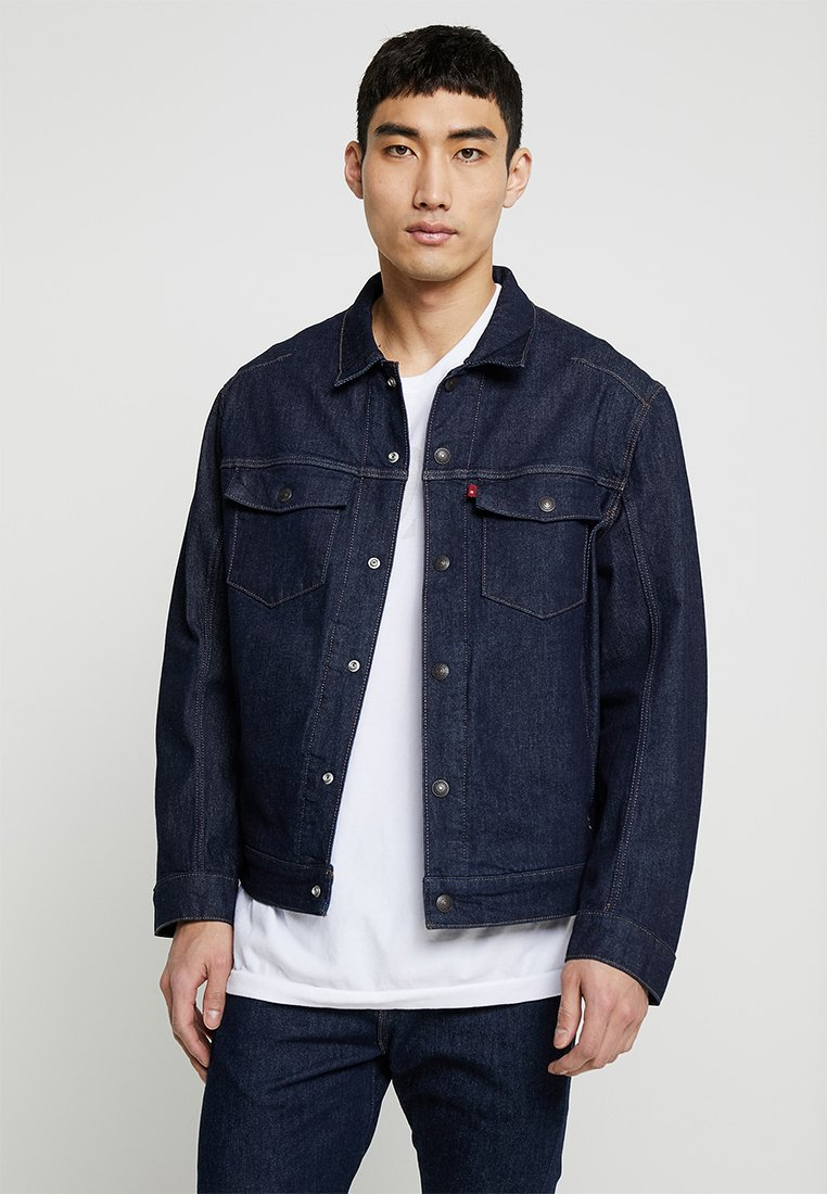 Levi's® Engineered Jeans - LEJ TRUCKER - Jeansjacke - rinse denim