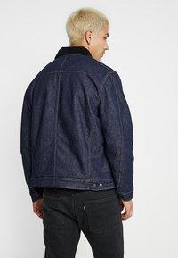 Levi's® Engineered Jeans - TRUCKER - Spijkerjas - dark blue denim - 2