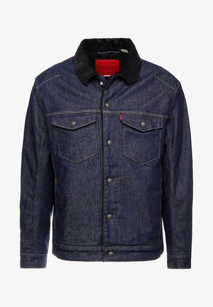 TRUCKER - Jeansjakke - dark blue denim