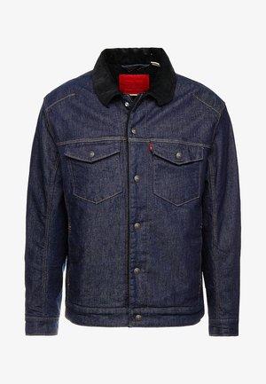 TRUCKER - Jeansjacke - dark blue denim