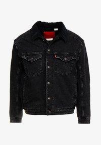 Levi's® Engineered Jeans - TRUCKER - Denim jacket - midnight saros - 4