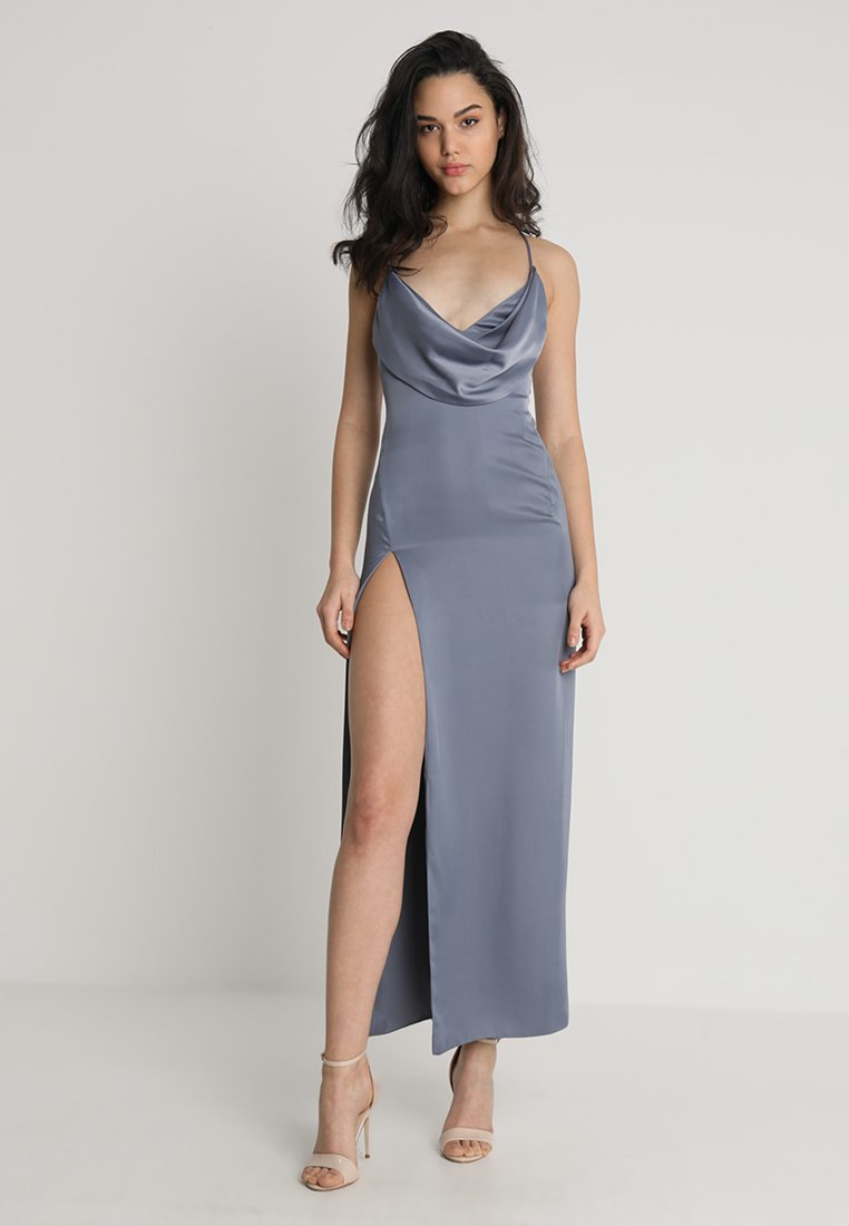 LEXI - MILA DRESS - Ballkjole - slate blue