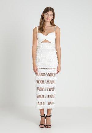 MINA DRESS - Ballkleid - white