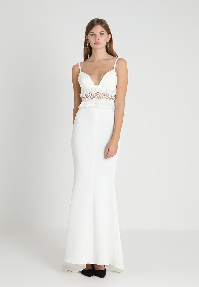 ZARHA DRESS - Maxi dress - white