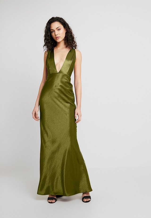 ADORA DRESS - Occasion wear - olive green