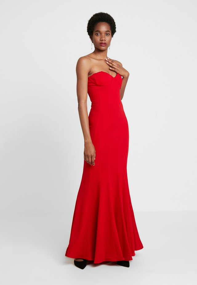 SAHAR DRESS - Occasion wear - red