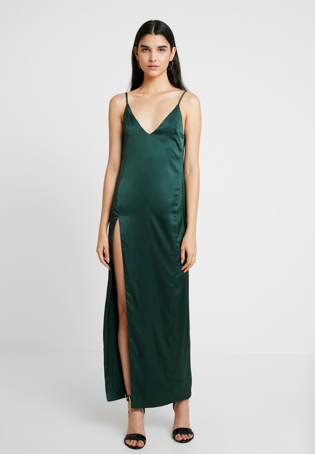 AKASA DRESS - Galajurk - dark green