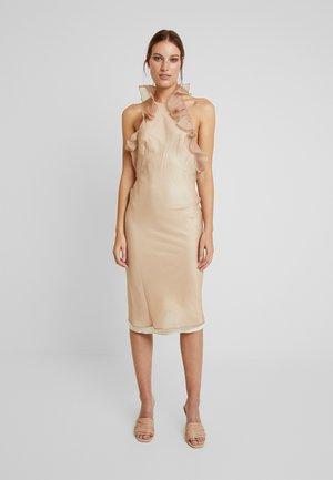 CHANTAL DRESS - Juhlamekko - beige