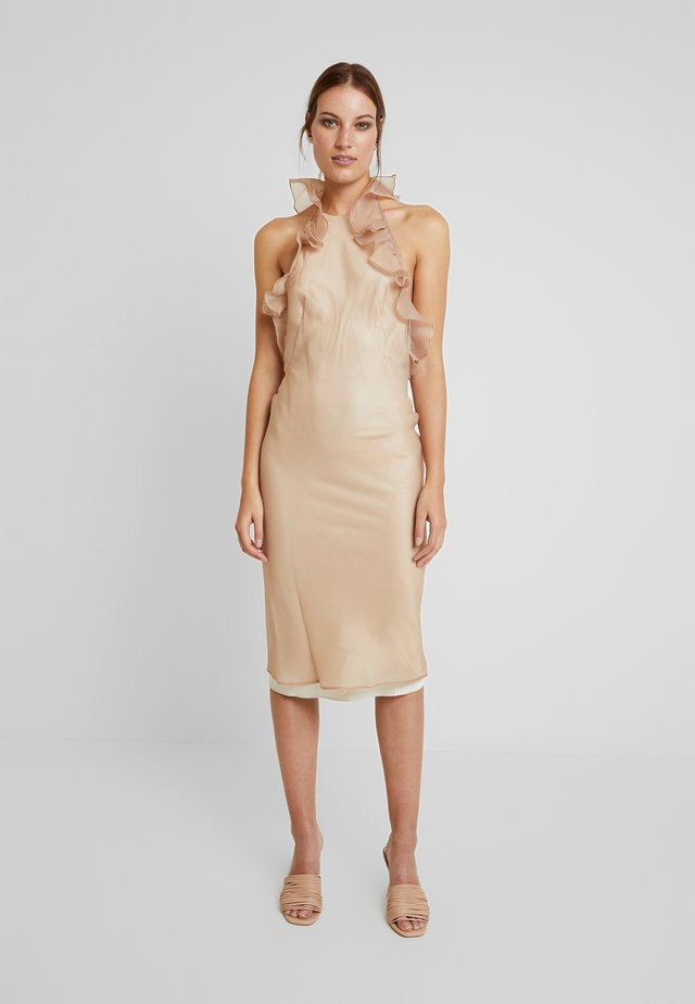 CHANTAL DRESS - Cocktailjurk - beige