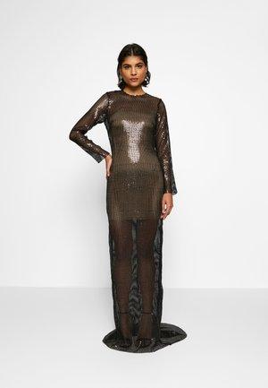 MALIKA DRESS - Suknia balowa - black