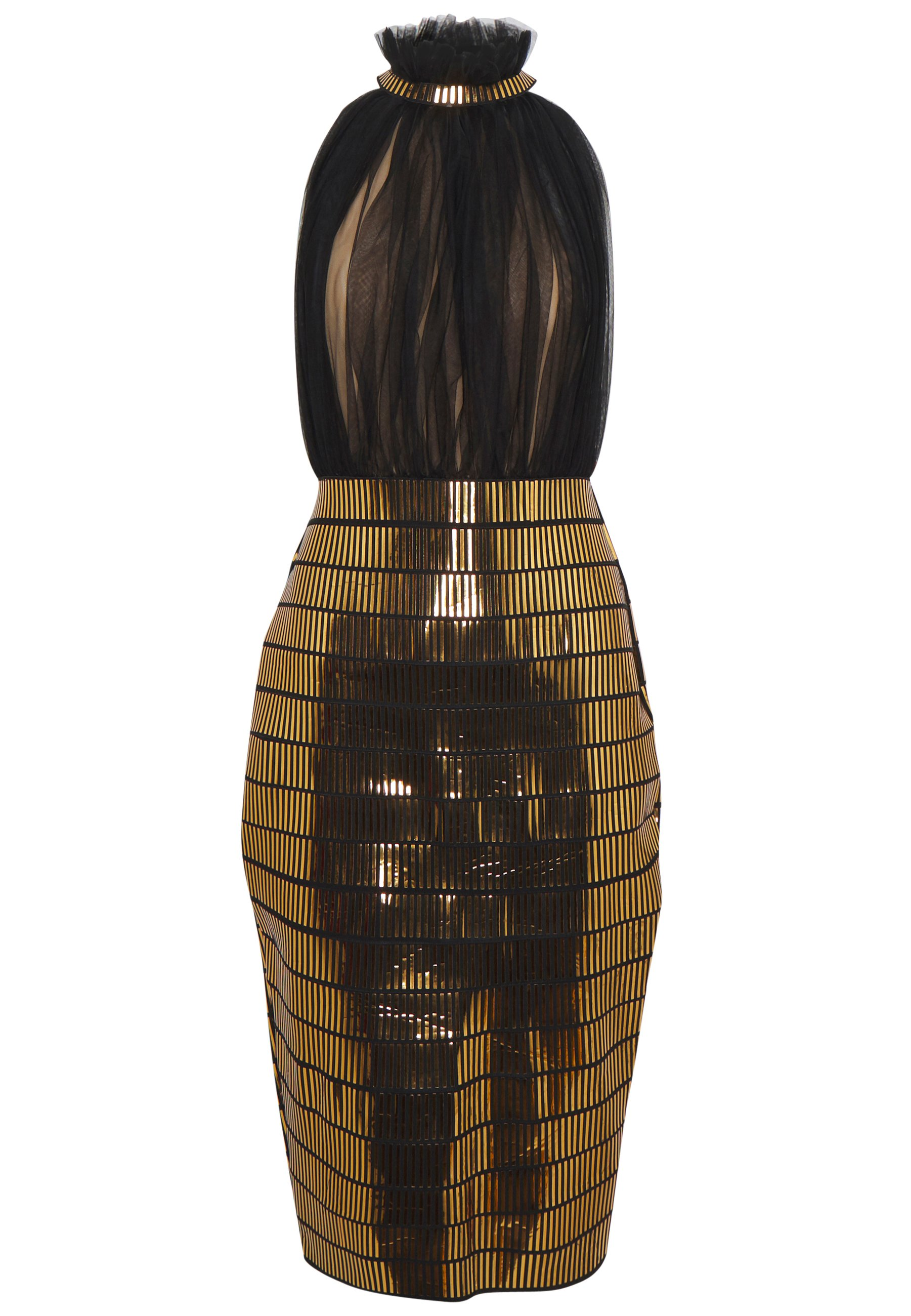 Lexi Micah Dress - Vestito Elegante Gold KjjWy6P