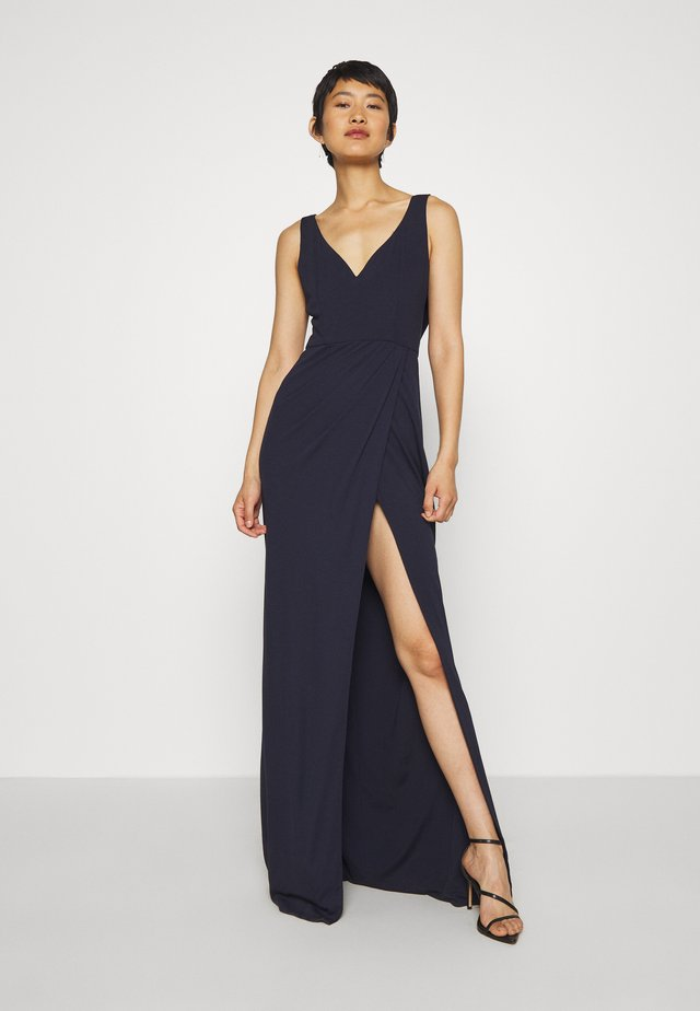 NAIDA DRESS - Occasion wear - navy