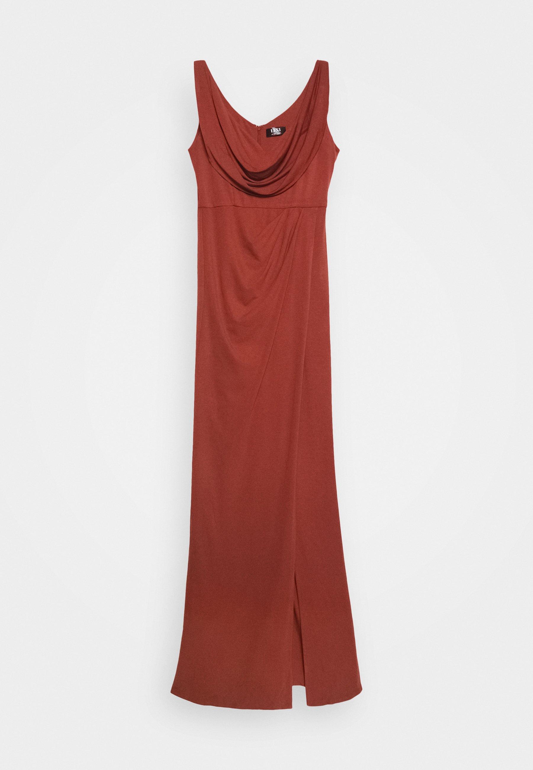 Lexi Naida Dress - Ballkleid Terracotta Black Friday