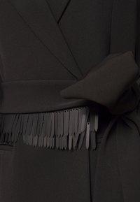 LEXI - AKILA JACKET DRESS - Skjortekjole - black - 2
