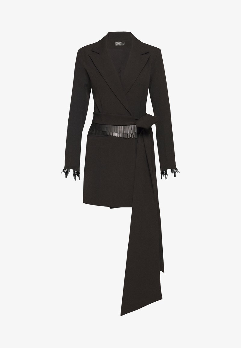 LEXI - AKILA JACKET DRESS - Skjortekjole - black