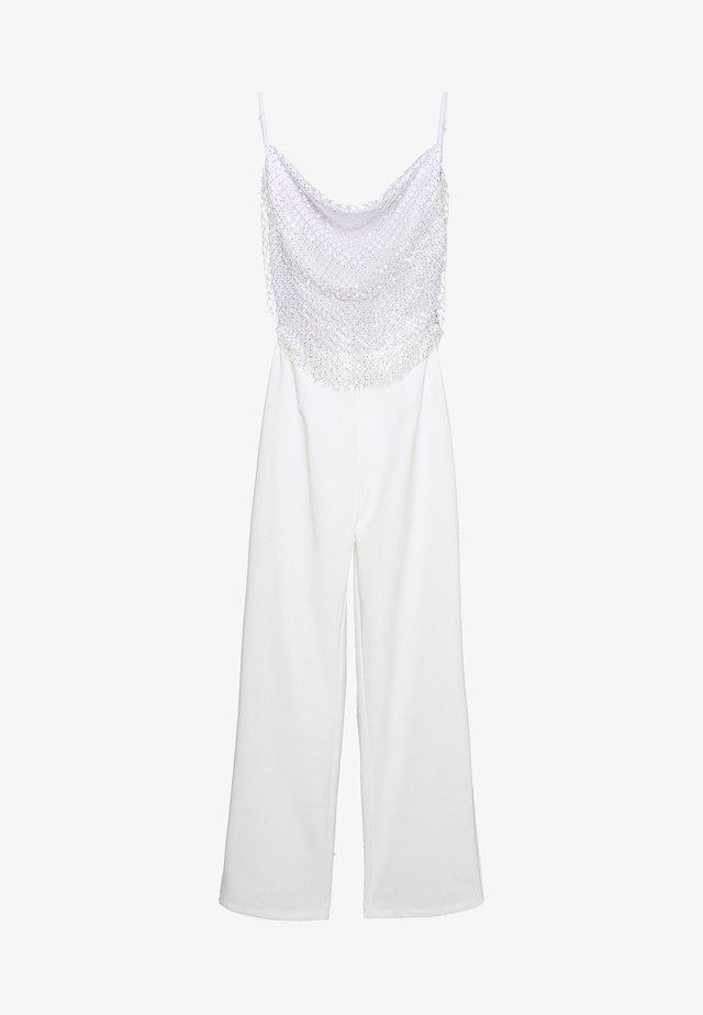 MADELINE - Tuta jumpsuit - white