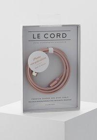Le Cord - Nabíjecí kabel - rose gold-coloured - 0