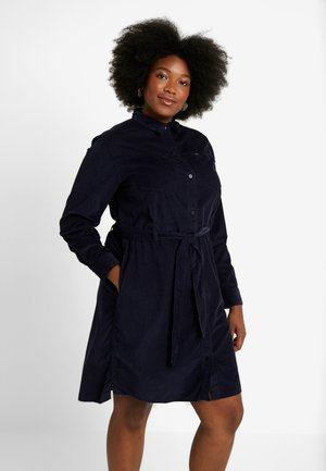 DRESS - Shirt dress - midnight navy