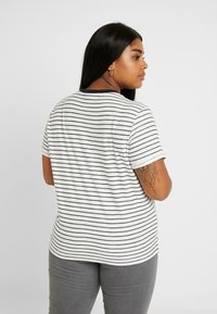 Lee Plus - STRIPE TEE - T-shirts med print - midnight navy - 2