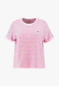 Lee Plus - STRIPE TEE - Camiseta estampada - frost pink - 3
