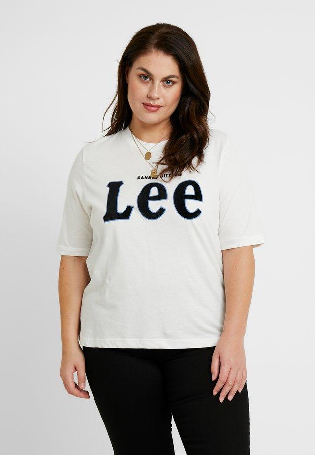 TEE - Printtipaita - off white