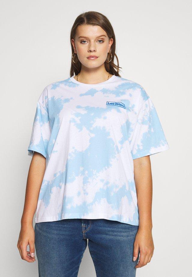 TIE DYE  - T-shirt print - blue