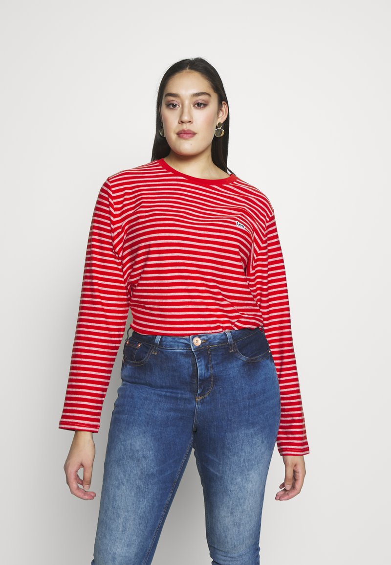 Lee Plus - Long sleeved top - bright white