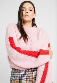 Lee Plus - CHUNKY - Jumper - frost pink - 4