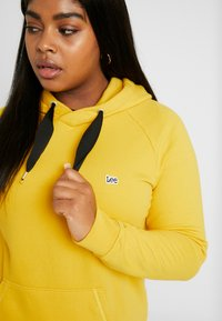 Lee Plus - LEE HOODY - Sweat à capuche - lemon zest - 4