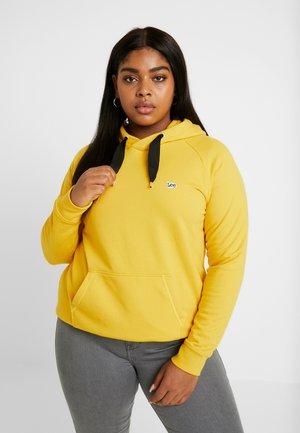 LEE HOODY - Jersey con capucha - lemon zest