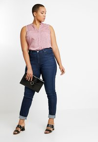 Lee Plus - SCARLETT HIGH WAISTED - Jeans Skinny Fit - polished indigo - 1