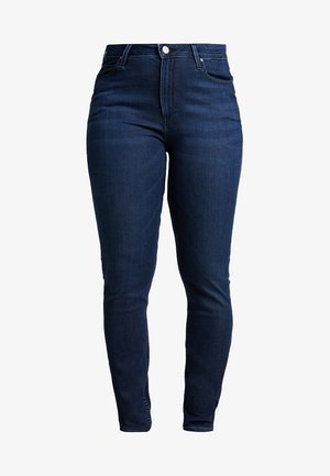 SCARLETT HIGH WAISTED - Jeans Skinny Fit - polished indigo
