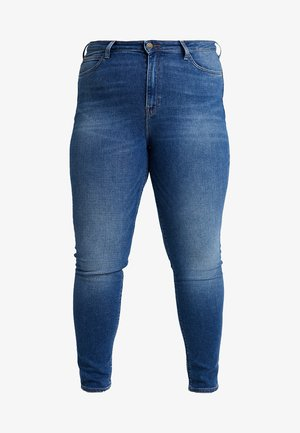 SCARLETT HIGH WAISTED - Jeans Skinny Fit - blue