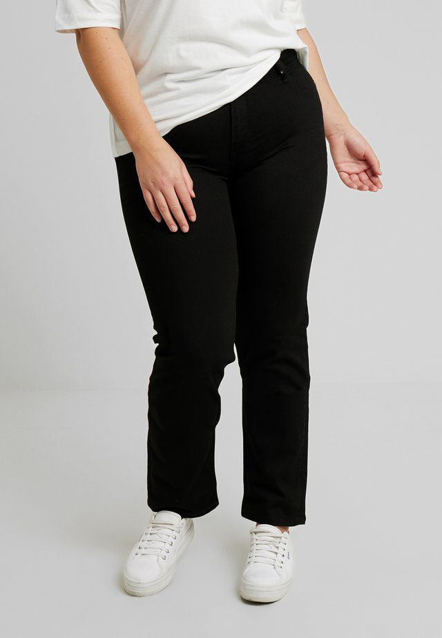 MARION STRAIGHT - Straight leg jeans - black rinse